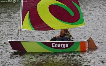 Program Energa Sailing - zajęcia na jeziorku Kamionkowskim w Warszawie